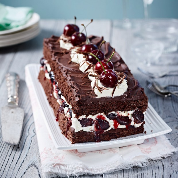 This black forest gateau makes a stunning special-occasion centrepiece ...