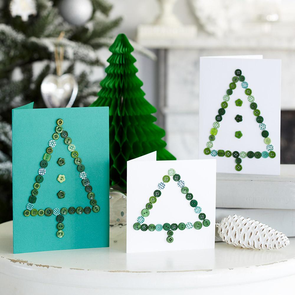 Handmade Christmas cards: 4 designs to inspire you