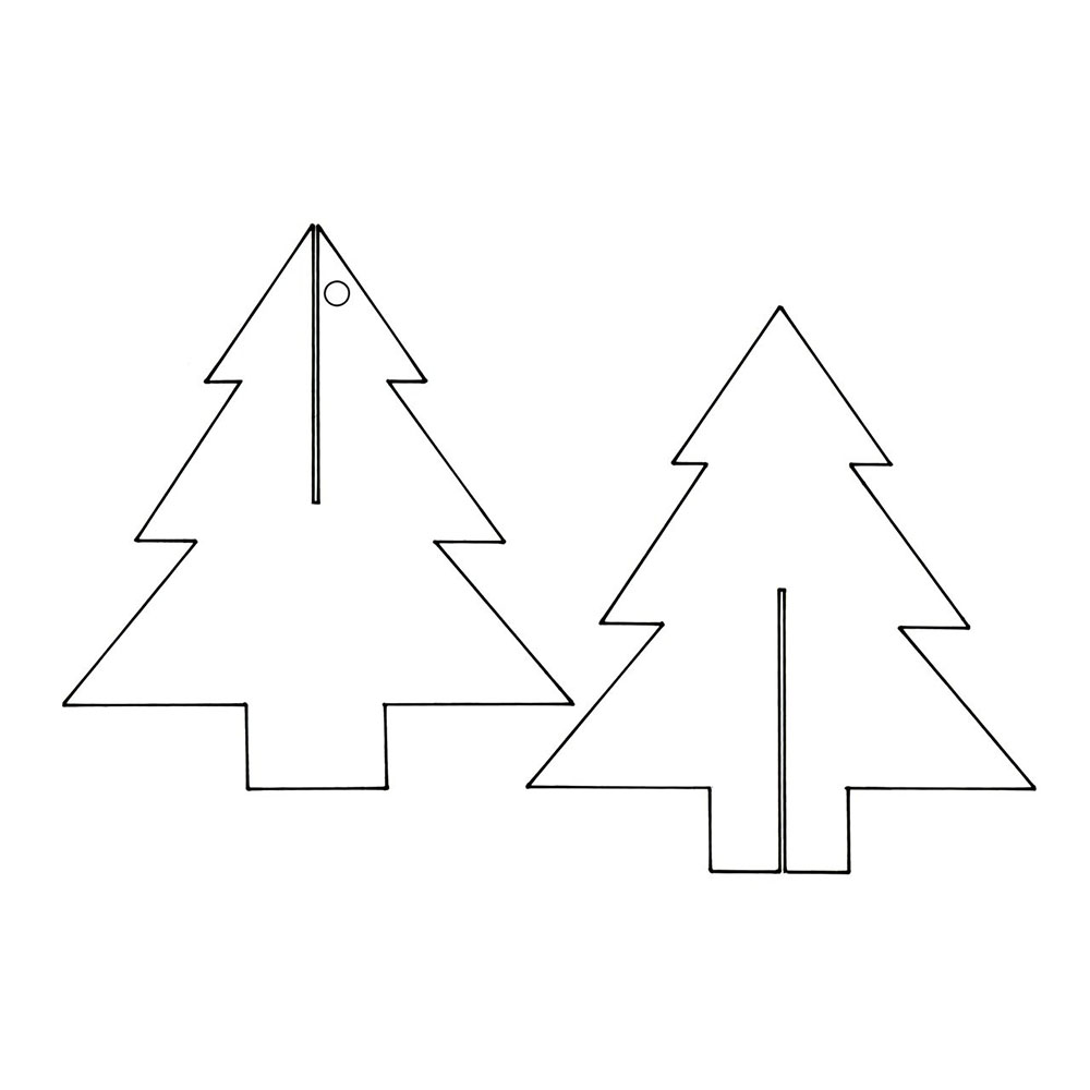 Paper Christmas Tree Decorations: How To Make Yours