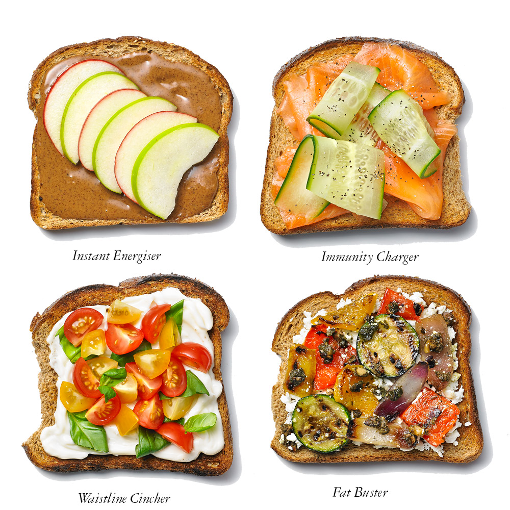 Healthy Toast Toppings For A Quick Evening Meal