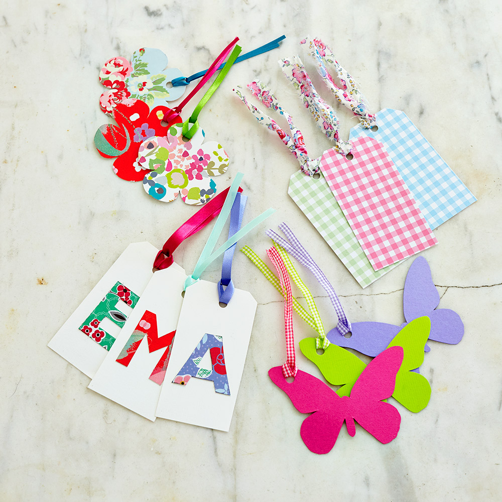How to make handmade gift tags for pretty presents for Custom tags for crafts