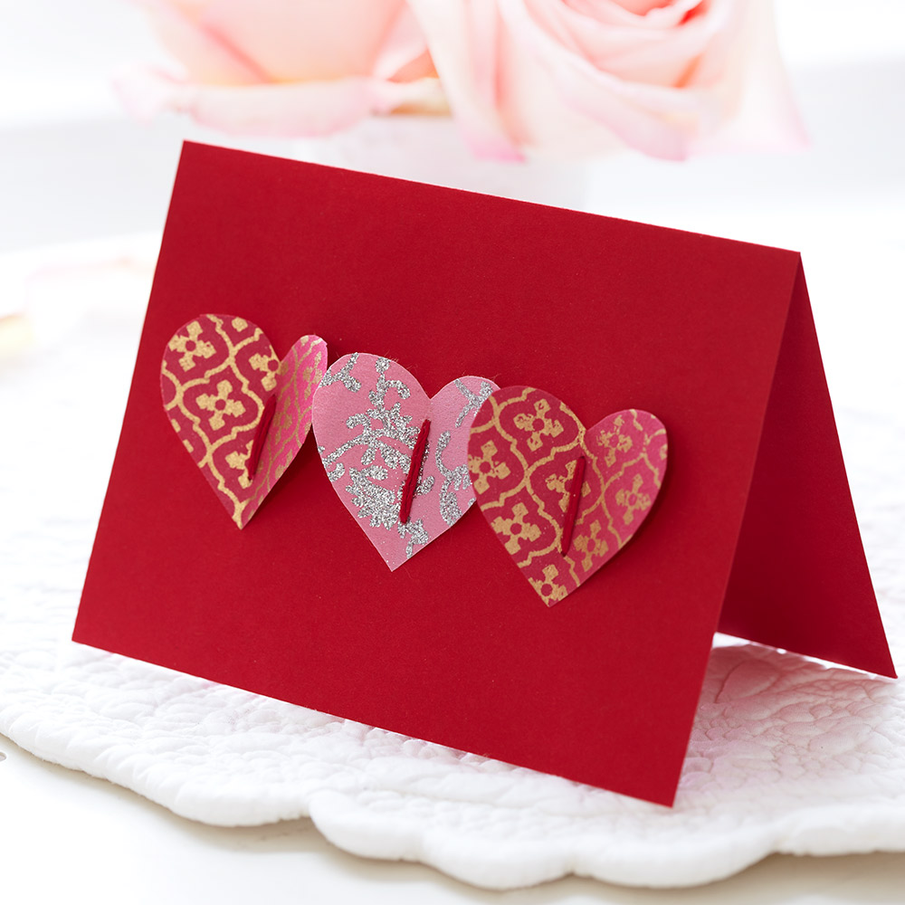 Handmade Valentine Cards Instantly Show You Care!