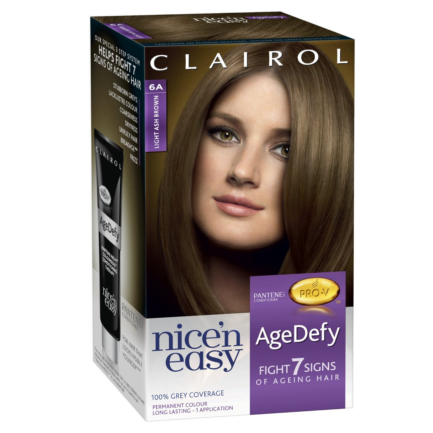 Reviews Of Clairol Age Defy Hair Colour | Dark Brown Hairs