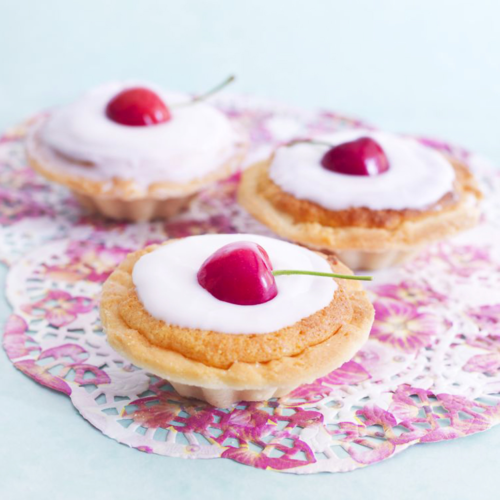 Try These Mini Tarts: Cherry Bakewells